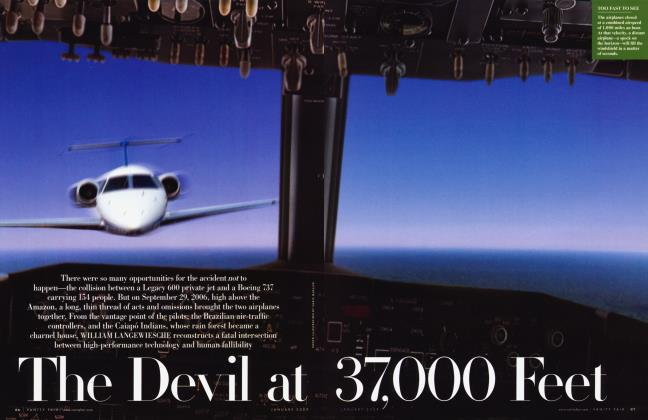 Article Preview: The Devil at 37,000 Feet, January 2009 | Vanity Fair