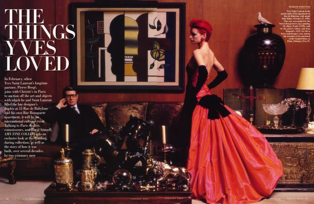 Article Preview: THE THINGS YVES LOVED, January 2009 2009 | Vanity Fair