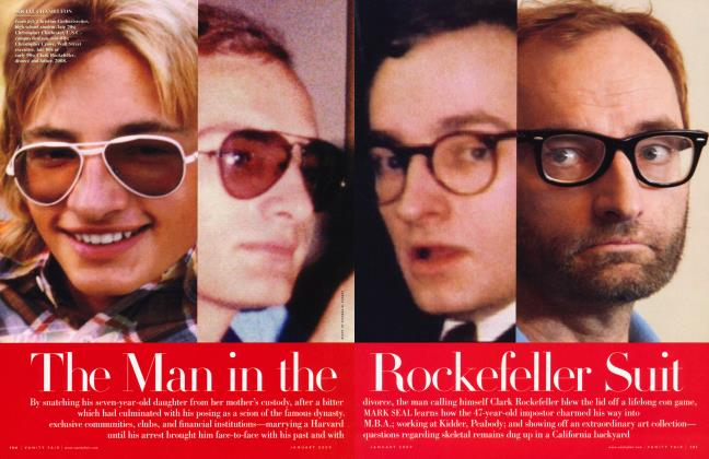 Article Preview: The Man in the Rockefeller Suit, January 2009 | Vanity Fair