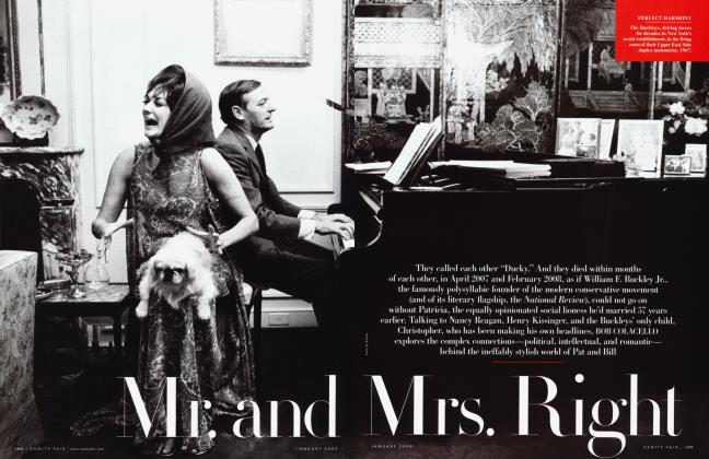 Article Preview: Mr. and Mrs. Right, January 2009 | Vanity Fair