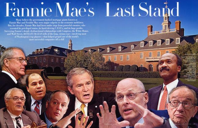 Article Preview: Fannie Mae's Last Stand, February 2009 2009 | Vanity Fair