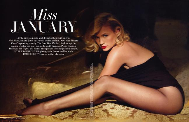 Article Preview: Miss JANUARY, February 2009 2009 | Vanity Fair