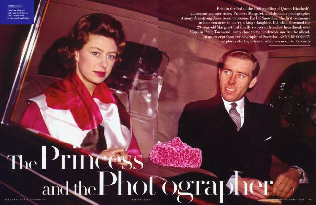 Article Preview: The Princess and the Photographer, February 2009 | Vanity Fair