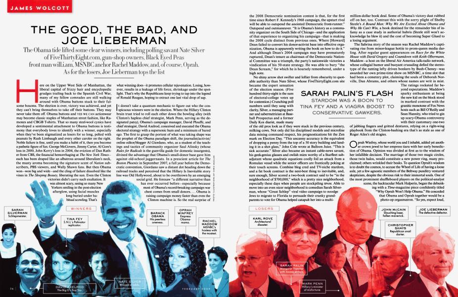 THE GOOD, THE BAD, AND JOE LIEBERMAN