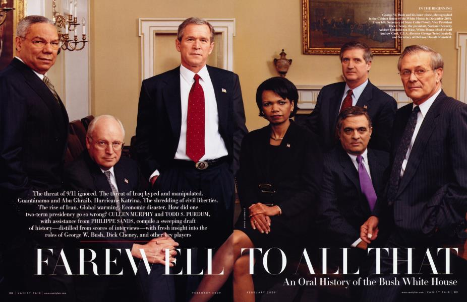 FAREWELL TO ALL THAT: An Oral History of the Bush White House