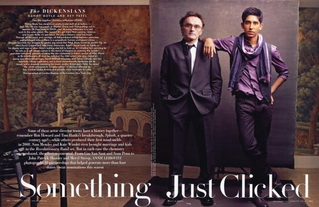 Article Preview: Something Just Clicked, March 2009 | Vanity Fair