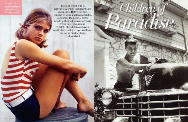 Article Preview: Children of Paradise, March 2009 | Vanity Fair