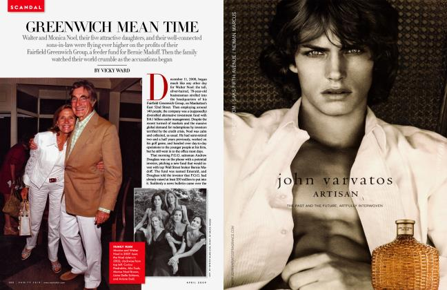 Article Preview: GREENWICH MEAN TIME, April 2009 2009 | Vanity Fair