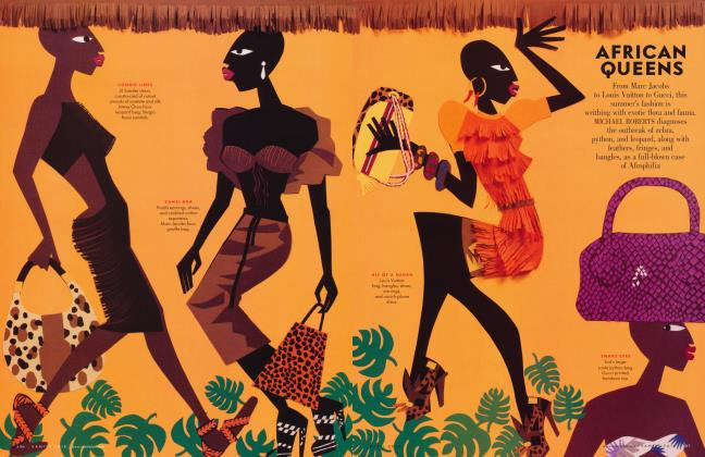 Article Preview: AFRICAN QUEENS, April 2009 2009 | Vanity Fair
