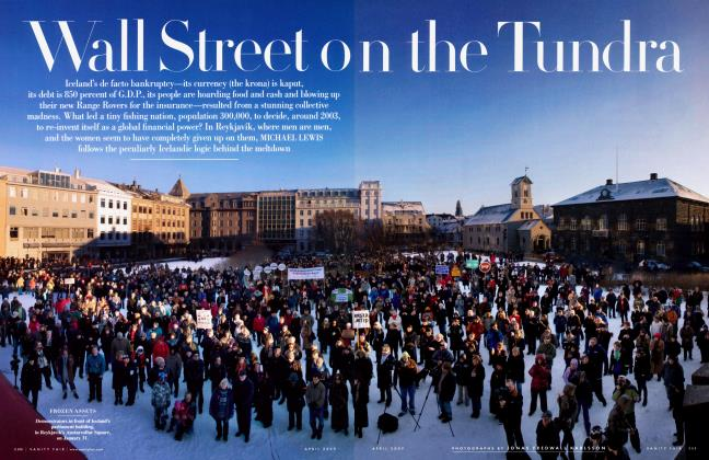 Article Preview: Wall Street on the Tundra, April 2009 | Vanity Fair