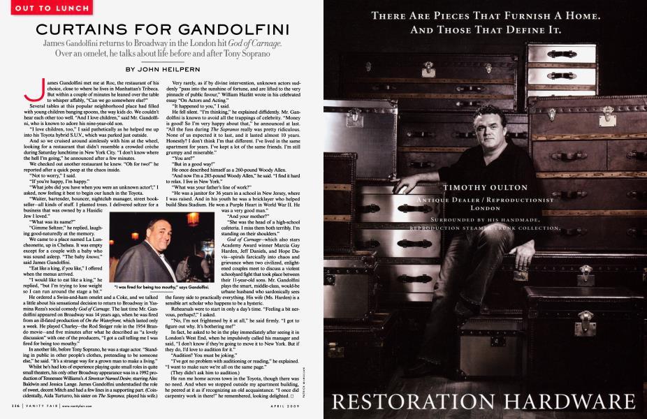 CURTAINS FOR GANDOLFINI