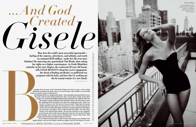 Article Preview: ...And God Created Gisele, May 2009 | Vanity Fair