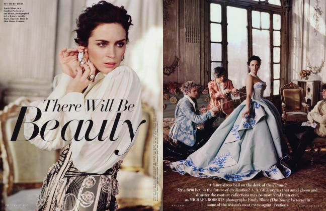 Article Preview: There Will Be Beauty, May 2009 2009   Vanity Fair