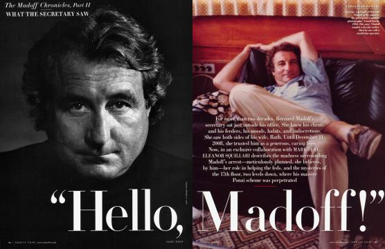 """Hello Madoff!"" - June 