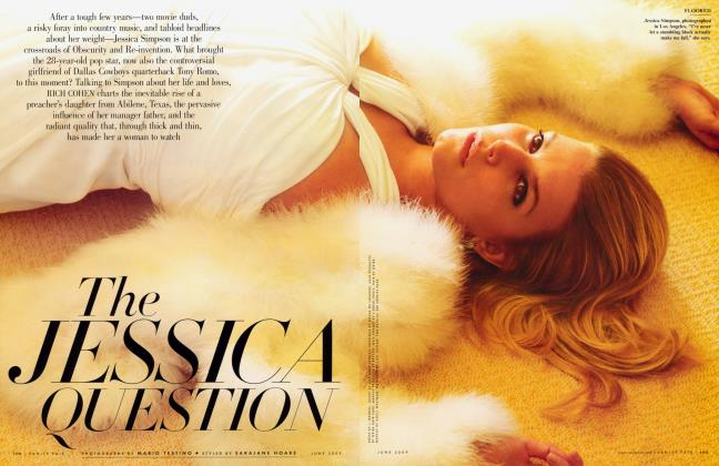 Article Preview: THE JESSICA QUESTION, June 2009 2009 | Vanity Fair