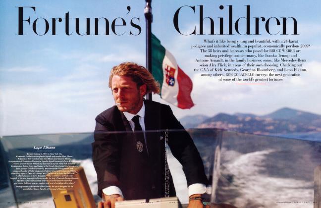 Article Preview: Fortune's Children, June 2009 2009 | Vanity Fair
