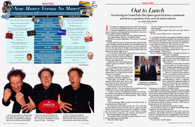 Article Preview: Out to Lunch, July 2009 2009 | Vanity Fair