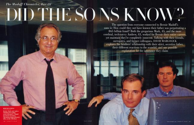 Article Preview: DID THE SONS KNOW?, July 2009 2009 | Vanity Fair