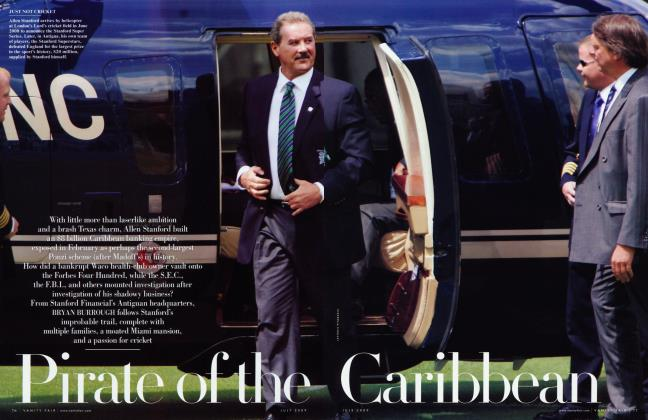 Article Preview: Pirate of the Caribbean, July 2009 | Vanity Fair