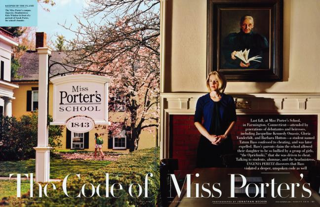 Article Preview: The Code of Miss Porter's, July 2009 | Vanity Fair