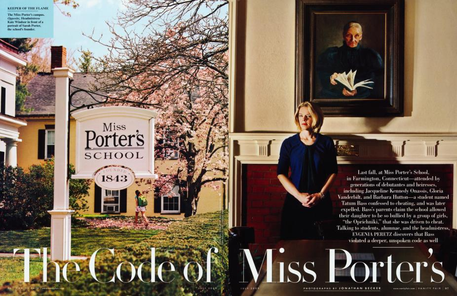 The Code of Miss Porter's