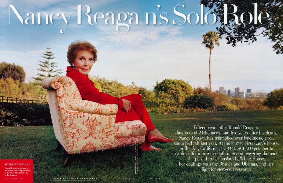 Nancy Reagan's Solo Role