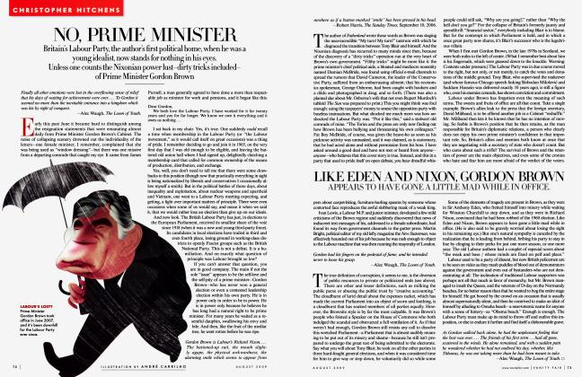 Article Preview: NO, PRIME MINISTER, August 2009 2009 | Vanity Fair