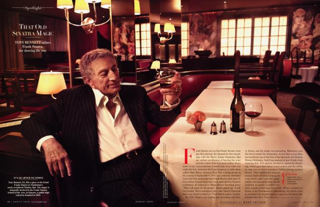 Article Preview: THAT OLD SINATRA MAGIC, August 2009 2009 | Vanity Fair