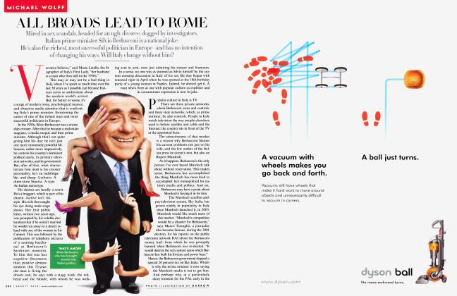 Article Preview: ALL, BROADS LEAD TO ROME, September 2009 2009 | Vanity Fair