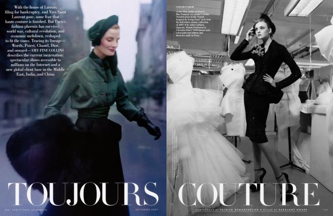 Article Preview: TOUJOURS COUTURE, September 2009 2009 | Vanity Fair