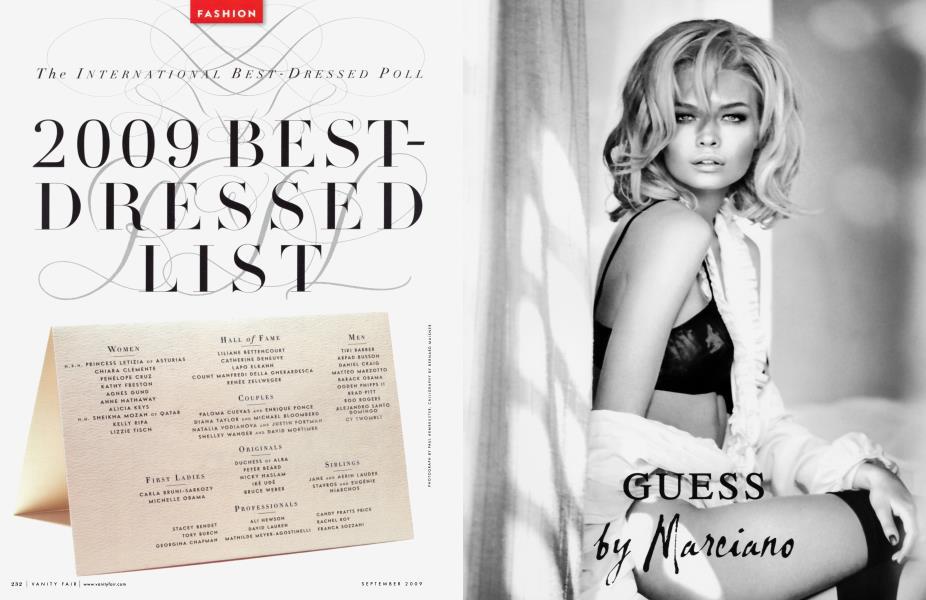 2009 BEST-DRESSED LIST