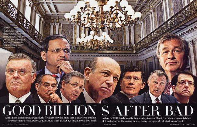 Article Preview: GOOD BILLIONS AFTER BAD, October 2009 2009 | Vanity Fair