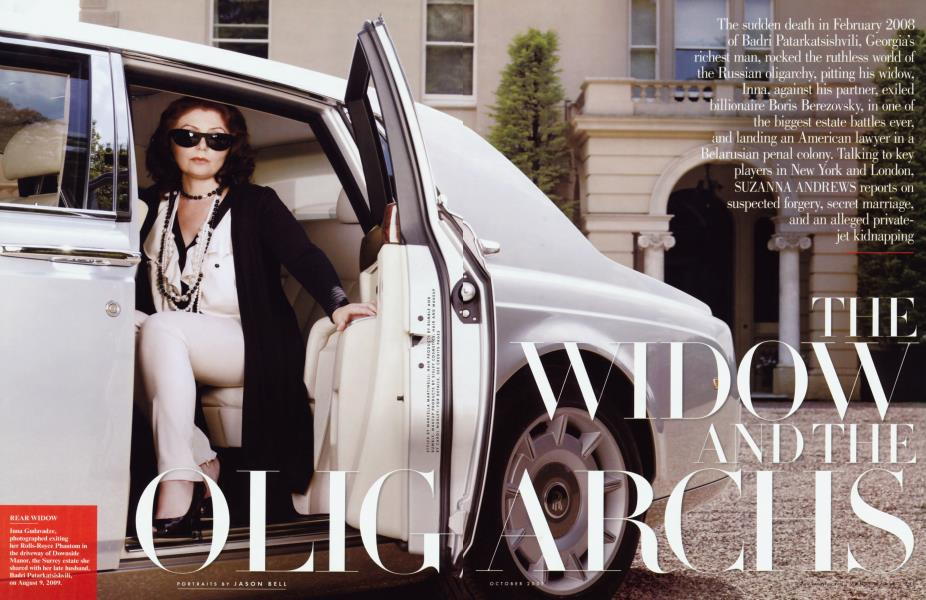 THE WIDOW AND THE OLIGARCHS