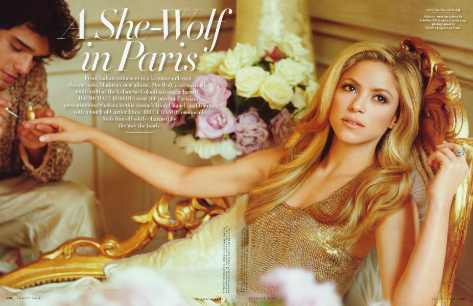 A She-Wolf in Paris