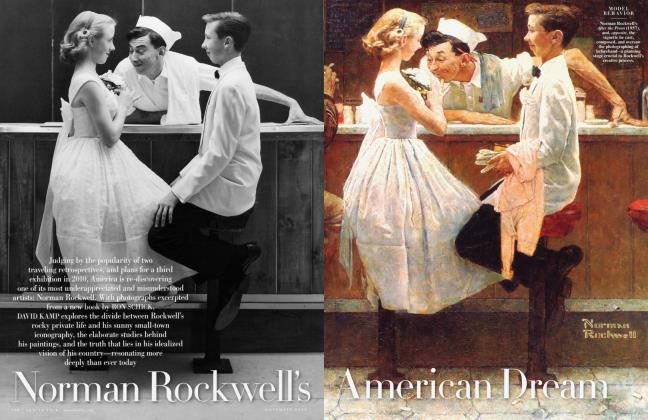 Article Preview: Norman Rockwell's American Dream, November 2009 | Vanity Fair