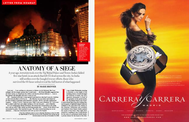 Article Preview: ANATOMY OF A SIEGE, November 2009 2009 | Vanity Fair