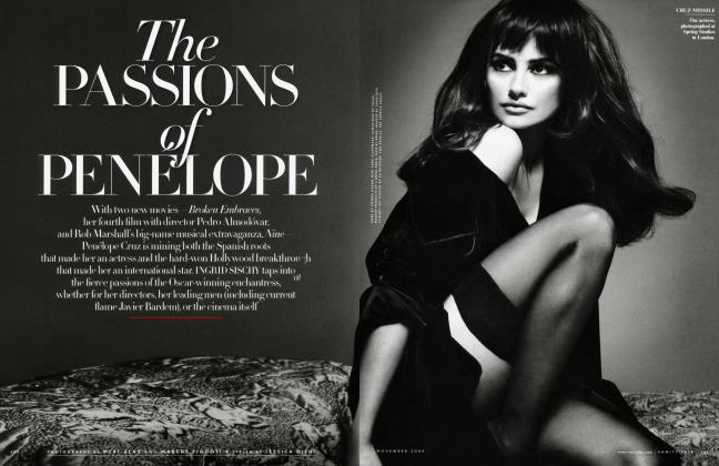Article Preview: The PASSIONS of PENELOPE, November 2009 | Vanity Fair