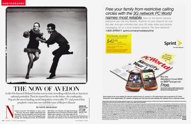 THE NOW OF AVEDON