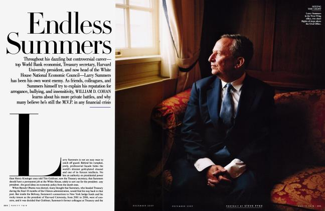 Article Preview: Endless Summers, December 2009 2009 | Vanity Fair