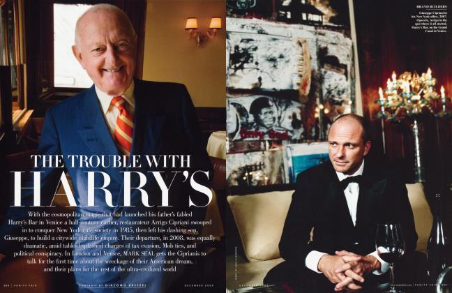 Article Preview: THE TROUBLE WITH HARRY'S, December 2009 2009 | Vanity Fair
