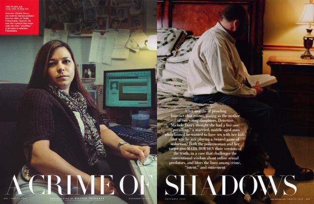 Article Preview: A CRIME OF SHADOWS, December 2009 2009 | Vanity Fair