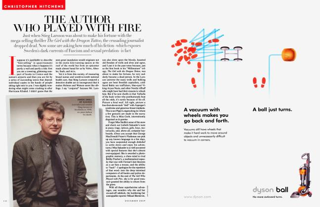 Article Preview: THE AUTHOR WHO PLAYED WITH FIRE, December 2009 2009 | Vanity Fair