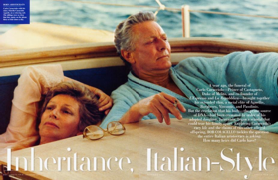 Inheritance, Italian-Style