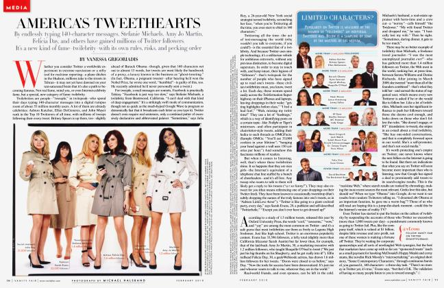 Article Preview: AMERICA'S TWEETHEARTS, February 2010 2010 | Vanity Fair
