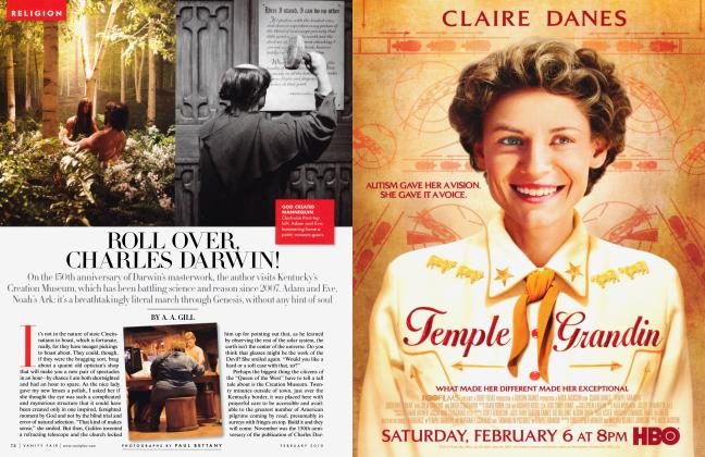 Article Preview: ROLL OVER, CHARLES DARWIN!, February 2010 2010   Vanity Fair