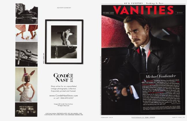 Article Preview: Michad Fassbender, February 2010 2010 | Vanity Fair
