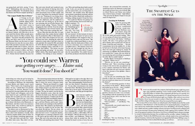 Article Preview: THE SMARTEST GUYS ON THE STAGE, February 2010 2010 | Vanity Fair