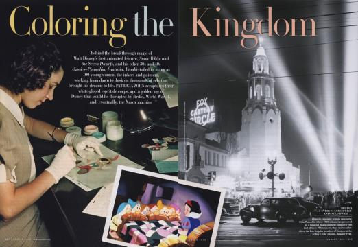 Coloring the Kingdom - March | Vanity Fair