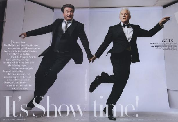 Article Preview: It's Showtime!, March 2010 2010 | Vanity Fair