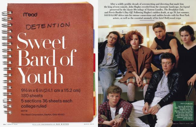 Article Preview: Sweet Bard of Youth, March 2010 2010 | Vanity Fair